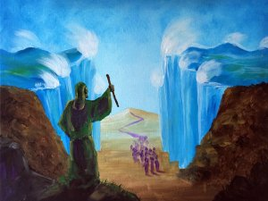 Moses - Parting the Red Sea